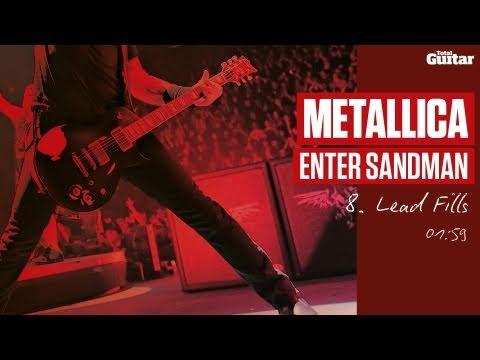 Guitar Lesson: Metallica 'Enter Sandman' -- Part Eight -- Lead Fills (TG213)