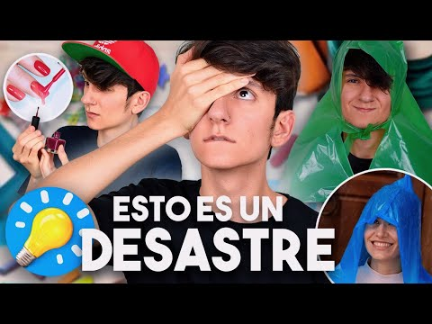 INTENT seguir los LIFE HACKS de 5 MINUTE CRAFTS FUNCION? | Gus