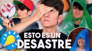 INTENTÉ seguir los LIFE HACKS de 5 MINUTE CRAFTS ¿FUNCIONÓ? | Gus
