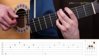 Как играть на гитаре Би 2 Мой рок н ролл