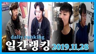 메이트엠박스 일간 랭킹 TOP4 2019년 11월 28일 [Daily Ranking]