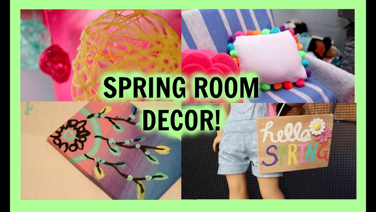 Diy spring room decor diy american girl doll spring for Diy room decor zoella
