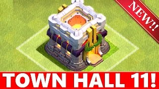 TOWN HALL 11 & NEW HERO CONFIRMED!!!! | NEW UPDATE TH11 + NEW DEFENSE 2015 ! Clash Of Clans