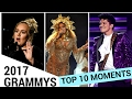 10 MUST SEE Moments From The Grammys (2017)