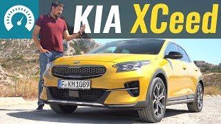 Тест-драйв KIA XCeed 2019