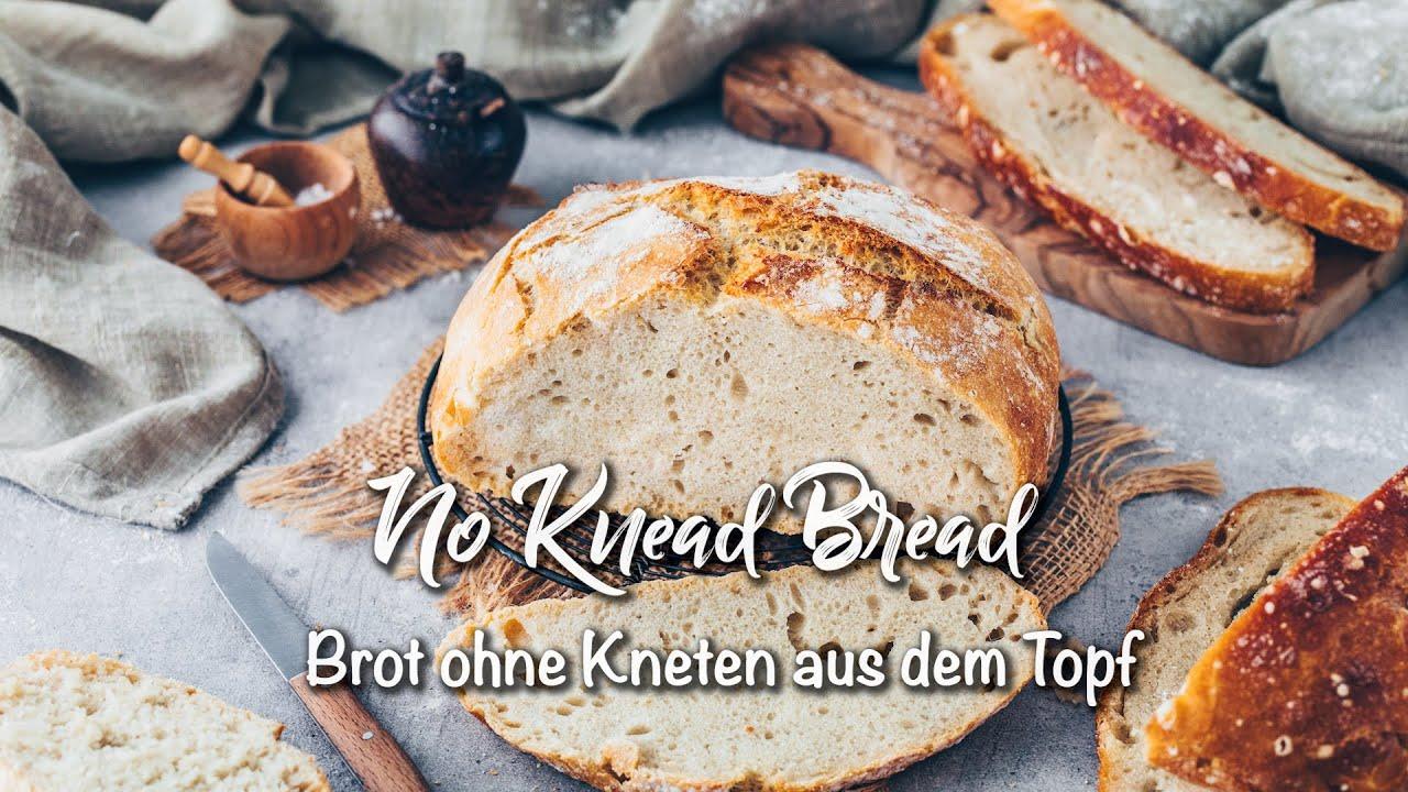 Brot ohne Kneten aus dem Topf ♡ *Super einfaches Rezept zum Selbermachen und so lecker!* ♡
