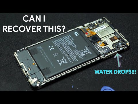 Trying to RECOVER A DEAD Smartphone due to water damage!