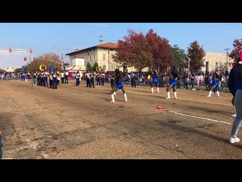 Wingfield High School Marching Band at the 2017 City of Jackson Holiday Parade