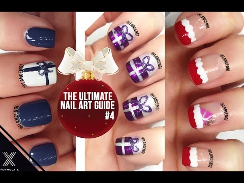 Diy Easy Cute Christmas Gifts Nail Art