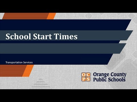 PM Orlando - Orange County Schools Debate Changing Start Times - Podcast 9-19-19