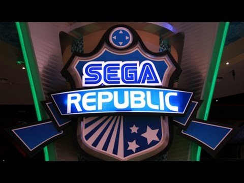 Sega Republic / Theme Park Inside Dubai Mall