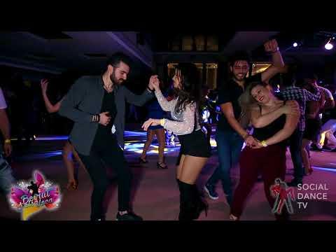 Saif Touza & Myrto Misyri - Salsa social dancing | Beirut Salsa Loca 2018