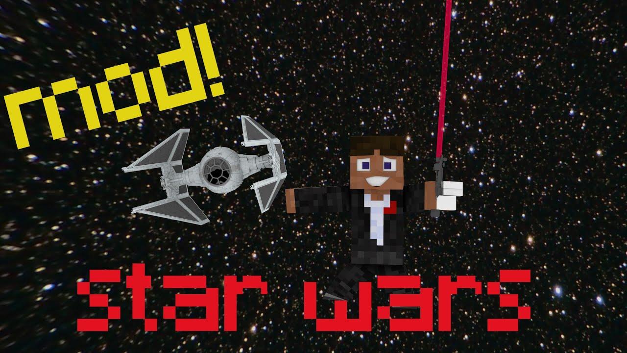 pr sentation du mod minecraft star wars droid 1 8 telechargement youtube. Black Bedroom Furniture Sets. Home Design Ideas