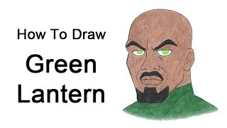 How to Draw Green Lantern (Justice League Unlimited)