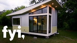 Tiny House Hunting: Less is More in a Modern Studio (S2, E7) | FYI