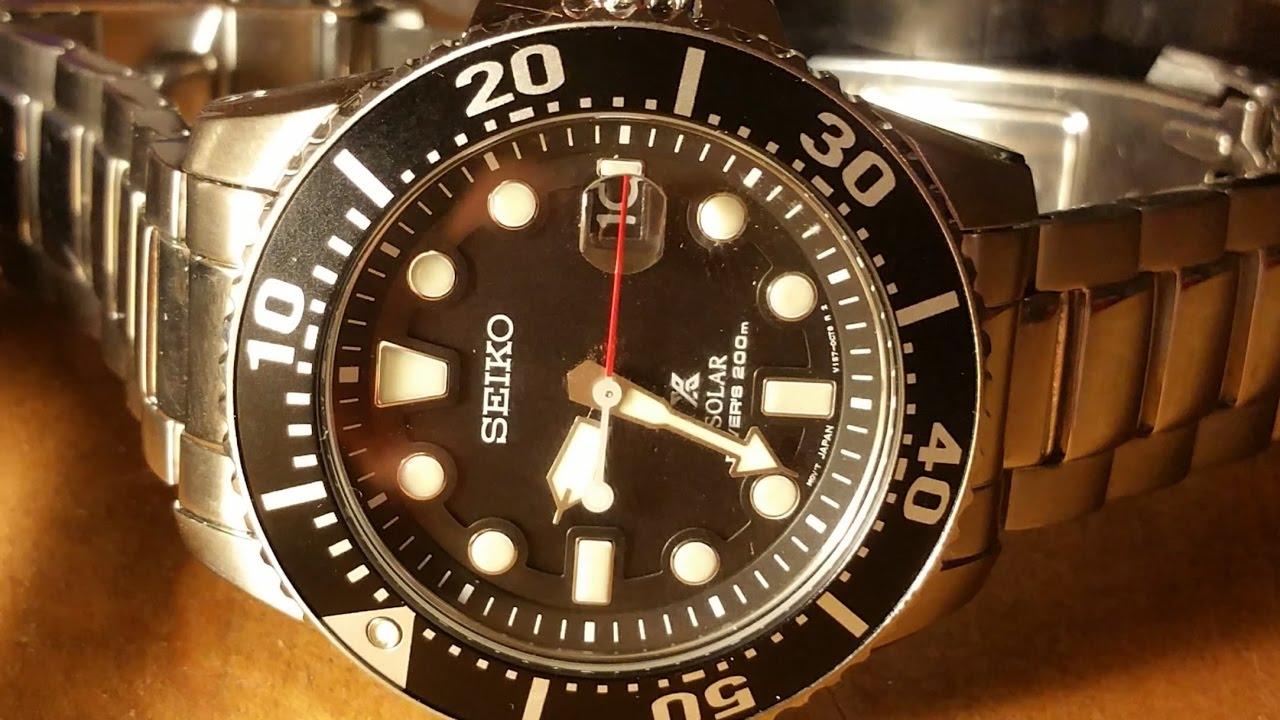 Seiko SNE437 Solar Diver Review