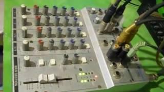 como conectar una consola mixer a la pc 2017 by DonFili