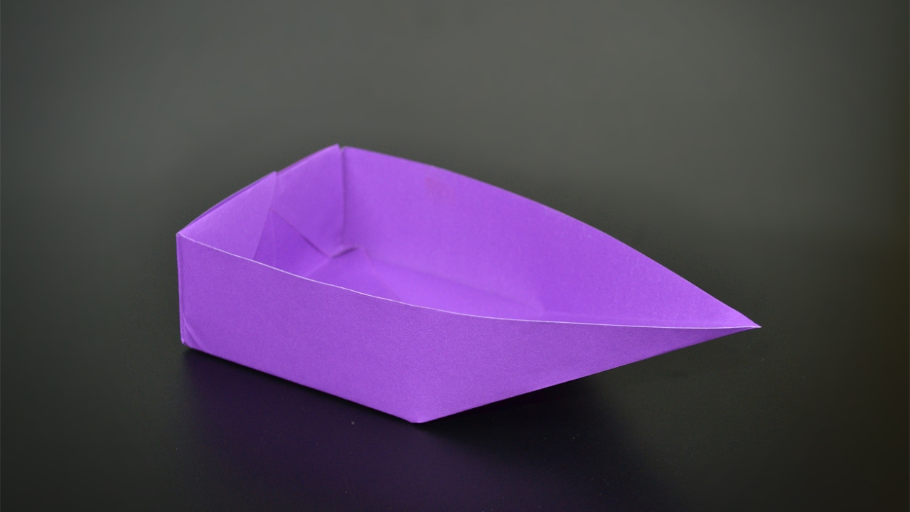 origami boat instructions in english br youtube