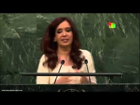 UN Speeches: Argentine President Cristina Fernandez
