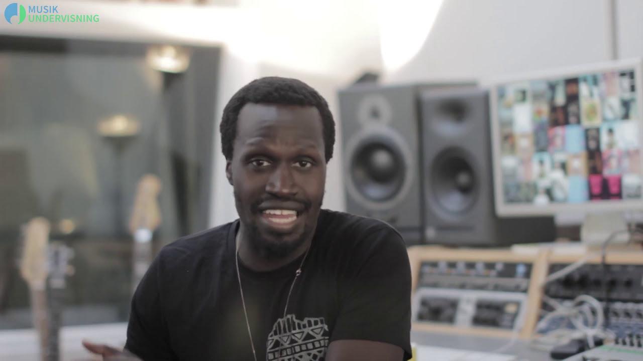 Kuku Agami. Underviser i rap og sangskrivning ved Musikundervisning.dk
