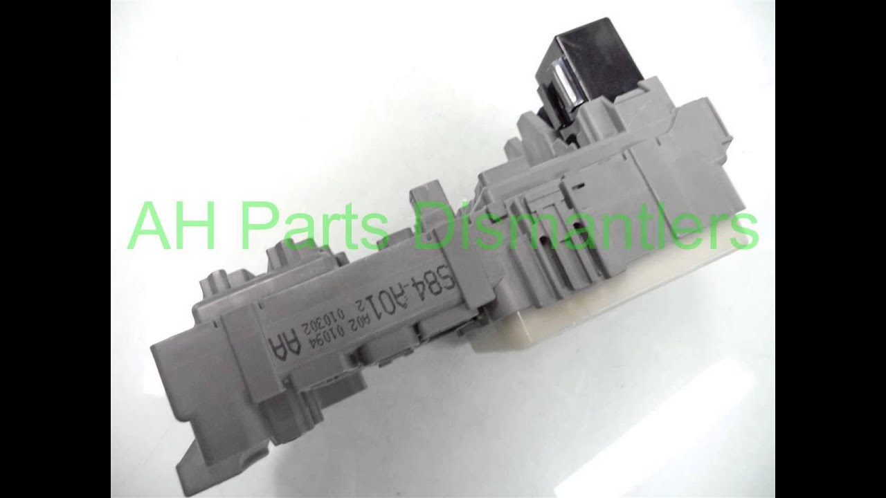 hight resolution of 2001 honda accord lh dash fuse box 38200 s84 a01 ahparts com used honda acura lexus toy oem