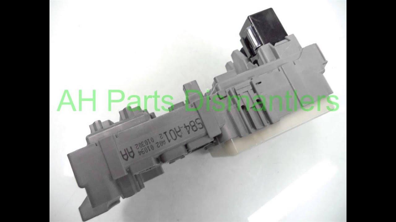 medium resolution of 2001 honda accord lh dash fuse box 38200 s84 a01 ahparts com used honda acura lexus toy oem