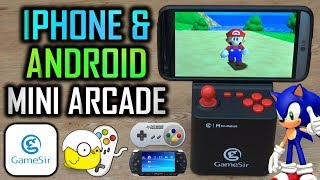 Turn Your Smart Phone Into A Mini Arcade!