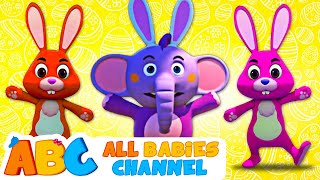🐰 Easter Funny Songs For Kids | Happy Easter | Kids Songs And More | All Babies Channel