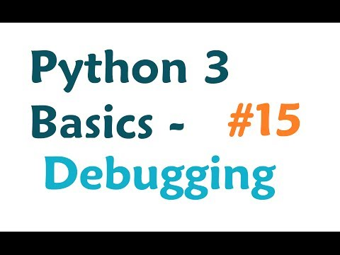 Python 3 Programming Tutorial - Common errors