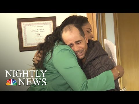 Homeless Man Rewarded After Returning Lost $10,000 Check | NBC Nightly News