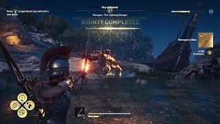AC Odyssey: Steropes, The Lightning Bringer - [NEW] Mythical Creature - Nightmare Difficulty