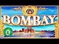 Bombay Bonus Play High Limit Slot Play - YouTube