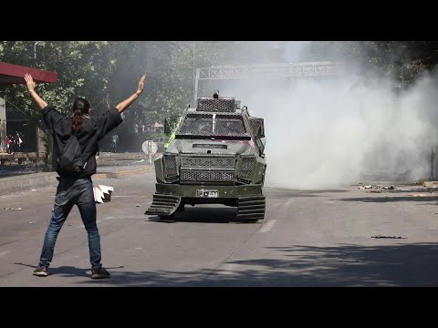 Violent protests continue in Chile   AFP