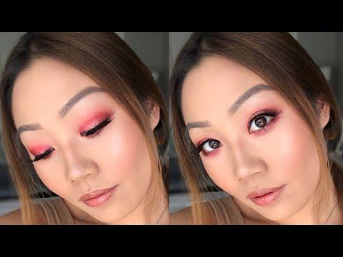 hot-red-smokey-eye-makeup-tutorial- -ashley-wong