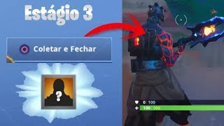 PRISONER STAGE 3 (FIRE KING)-SITE OF THE SECRET CAMPFIRE!!! FORTNITE BATTLE ROYALE