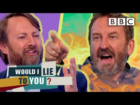 David SHREDS Lee Mack's Terrible Confession!   Would I Lie To You - BBC