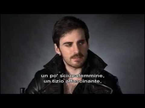 Intervista Colin O'Donoghue/ Captain Hook contenuti speciali S2