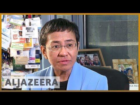 🇵🇭Philippines journalist charged with tax evasion l Al Jazeera English