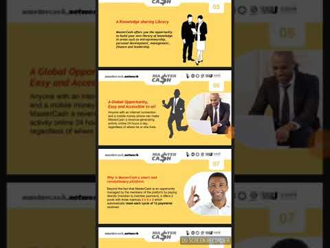 New Opportunity To Make Money Today In Ghana and Worldwide. MasterCash Is Genuine!!