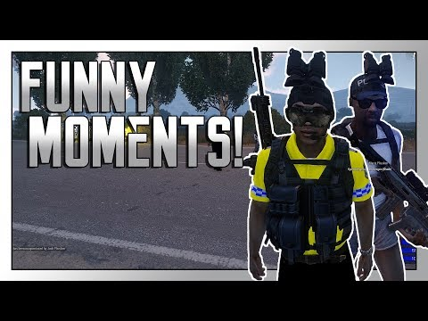 Arma 3 Altis Life: Funny Moments! - Corrupt Police Force
