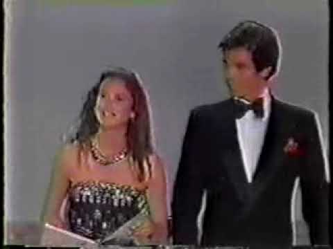 Pierce Brosnan and Stephanie Zimbalist Peoples Choice Award