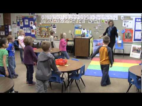 Classrooms that Move:  Dorothy Moses Elementary School Kindergarten