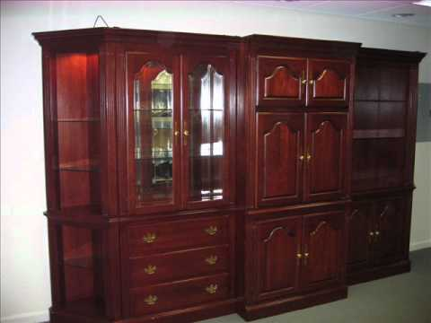 Solid Cherry China Cabinet/Armoire/ Bookcase/Curio U002624Light Solid Brass  Chandelier   YouTube