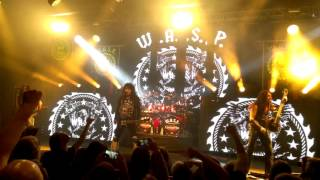 "W.A.S.P. - ""On Your Knees"" & ""Inside The Electric Circus"" Live @ Areena 2015 4K 2160p"