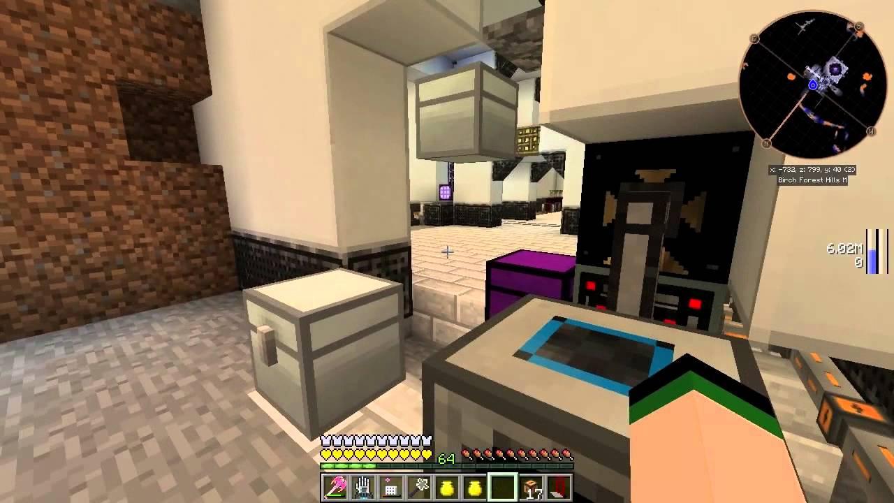 Minecraft FTB Infinity - Ep 24 - Lazer Drill!