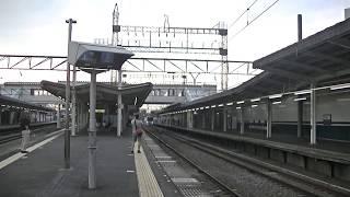 西武鉄道38103F 快速急行池袋行 西所沢ゆっくり通過