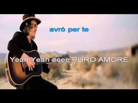 Puro Amore ( Zucchero) Karaoke by Gianfry&Cry.mp4
