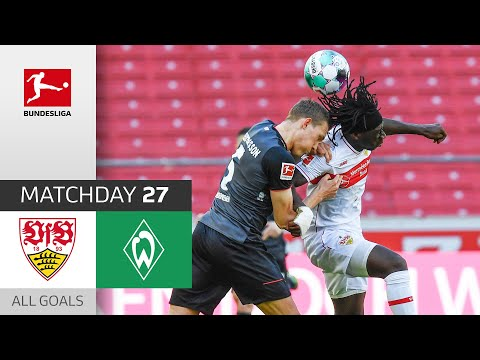 VfB Stuttgart Werder Bremen Goals And Highlights