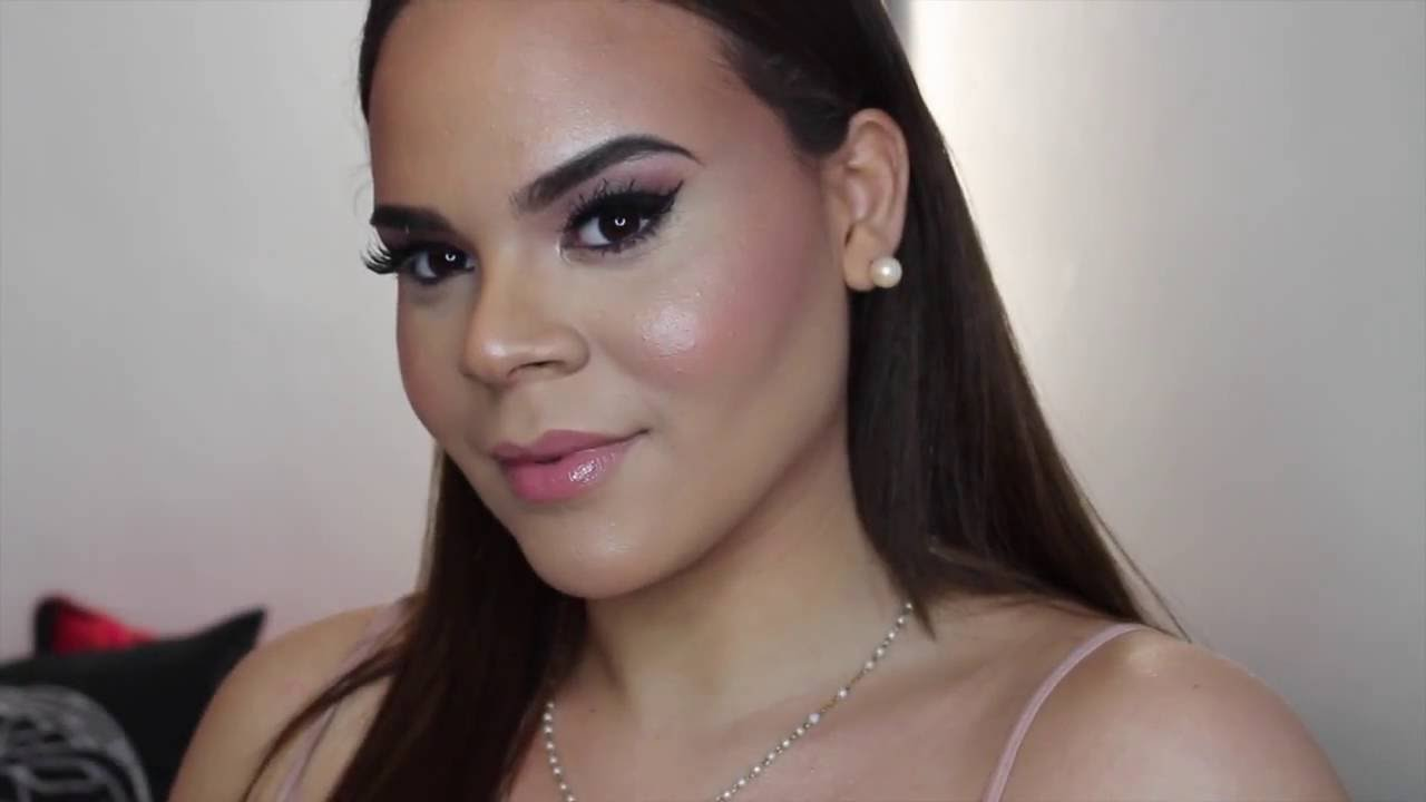 Glam Makeup Tutorial On Someone Else Youtube