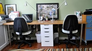 Images of 2 Person Desk For Home Office - Home Design Ideas